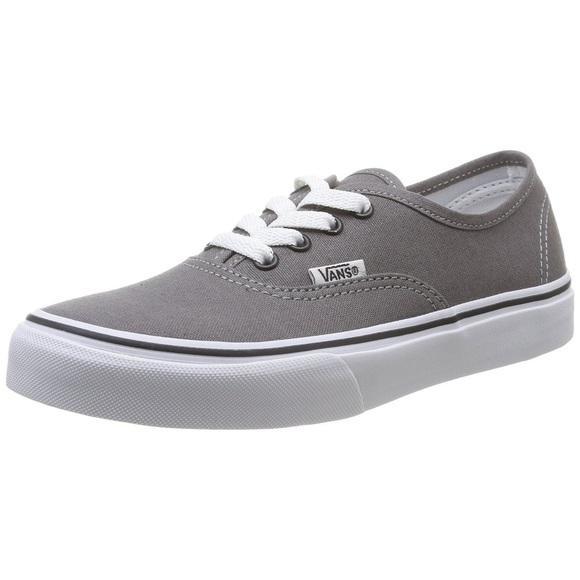 vans low top grey